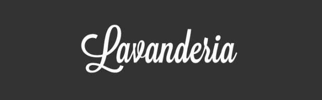 Fabulous Font: Lavanderia