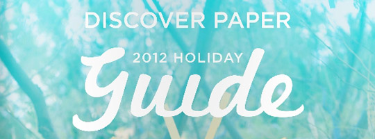 My Calendar in Discover Paper's Holiday Guide