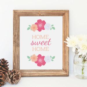 printable home sweet home artwork