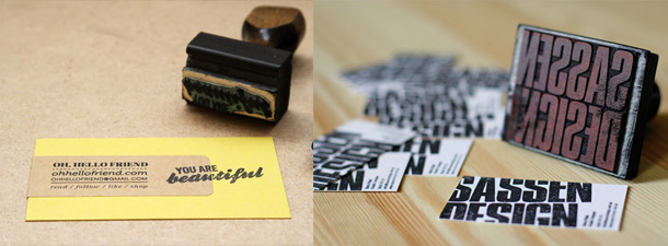 diy business card roundup