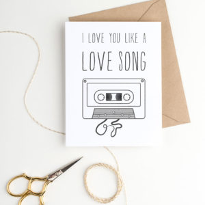 fun printable valentine's day card