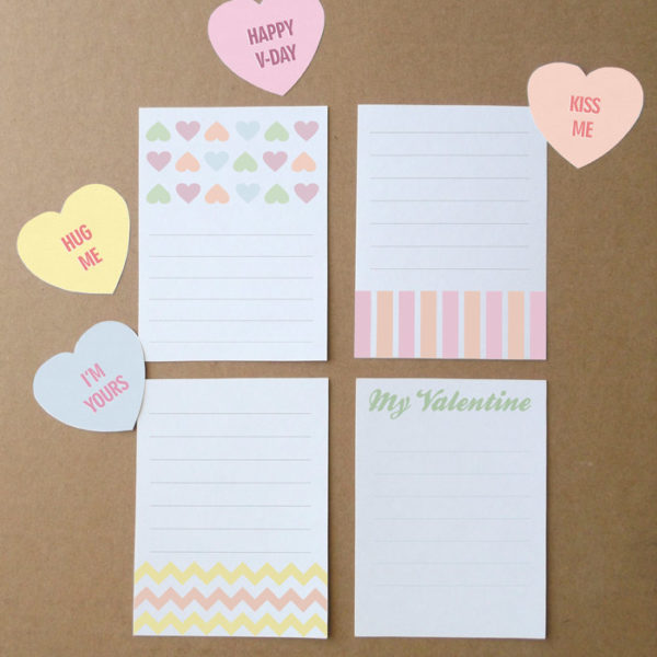 printable valentines day craft kit
