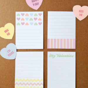 printable valentine's day craft kit
