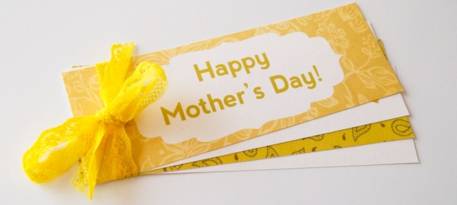 Free Printable Mother's Day Bookmarks