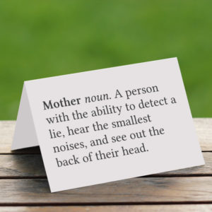 funny printable mothers day card