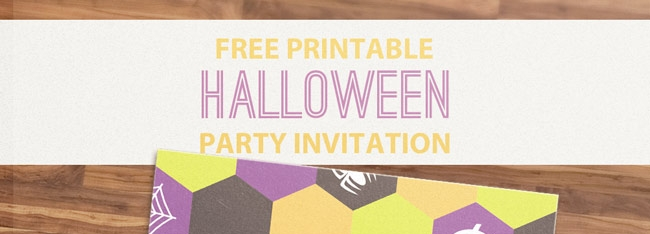 free printable halloween party invitation