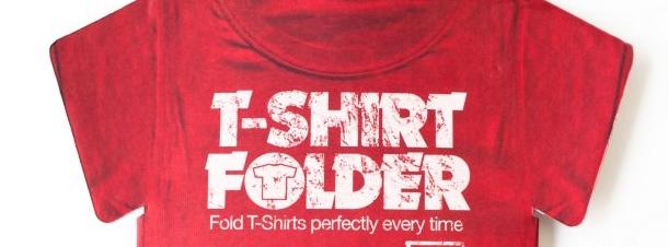 Cool Stuff: Cardboard T-Shirt Folder