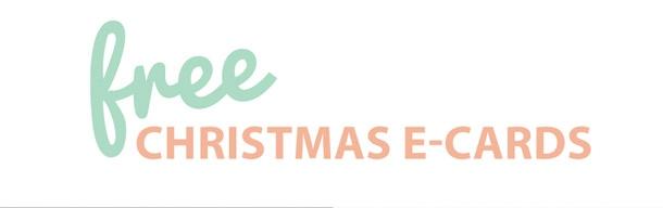 free pretty christmas e-cards