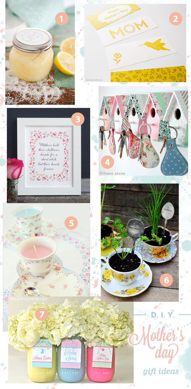 Do it yourself mother day gift ideas