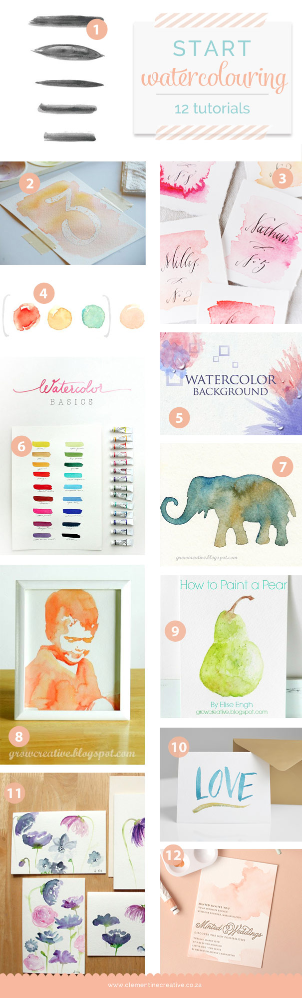 12 easy watercolour painting tutorials for beginners for How to use watercolors for beginners