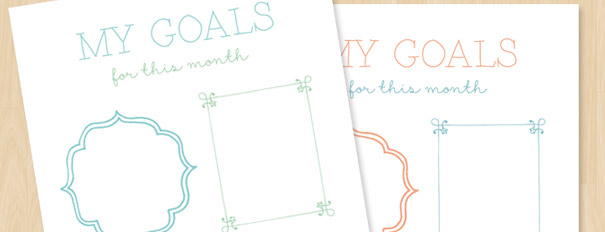 Goal Setting Worksheet Free Printable – Setting Personal Goals Worksheet