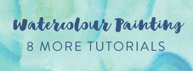 free watercolour painting tutorials