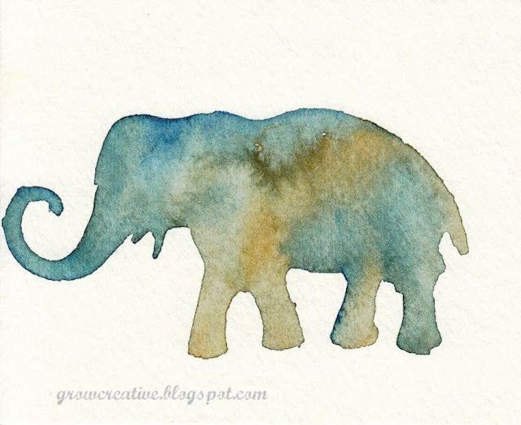 watercolor stencil tutorial