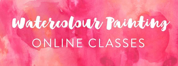 watercolour painting online classes
