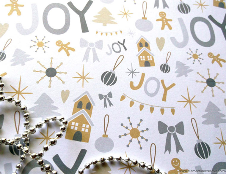 picture relating to Printable Christmas Wrapping Paper identified as Free of charge Printable Xmas Wrapping Paper and Tags