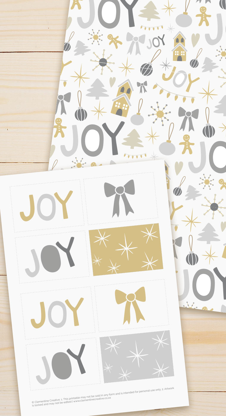 cute printable christmas gift tags and paper