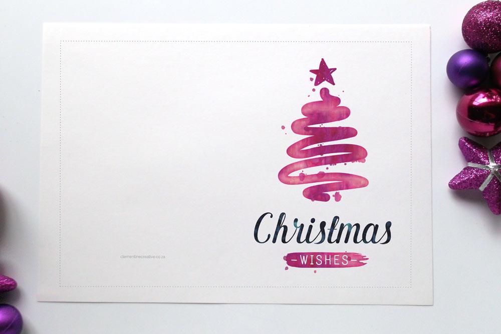 christmas cards printables - Mendi.charlasmotivacionales.co