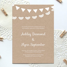 free printable wedding invite