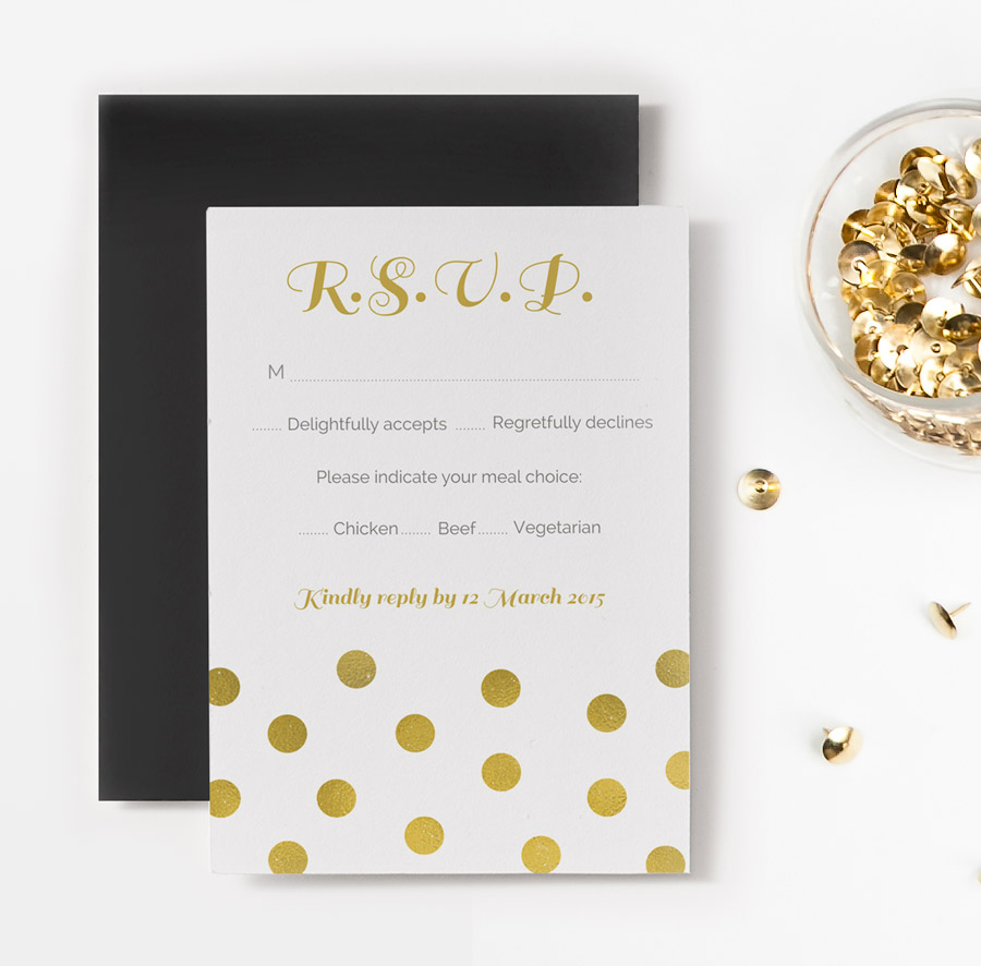 free printable rsvp card template Success