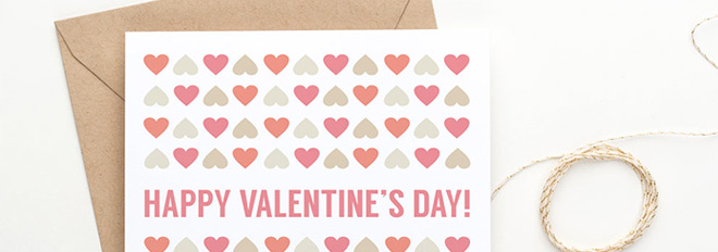New in my Shop: Printable Valentine's Day Cards 2015