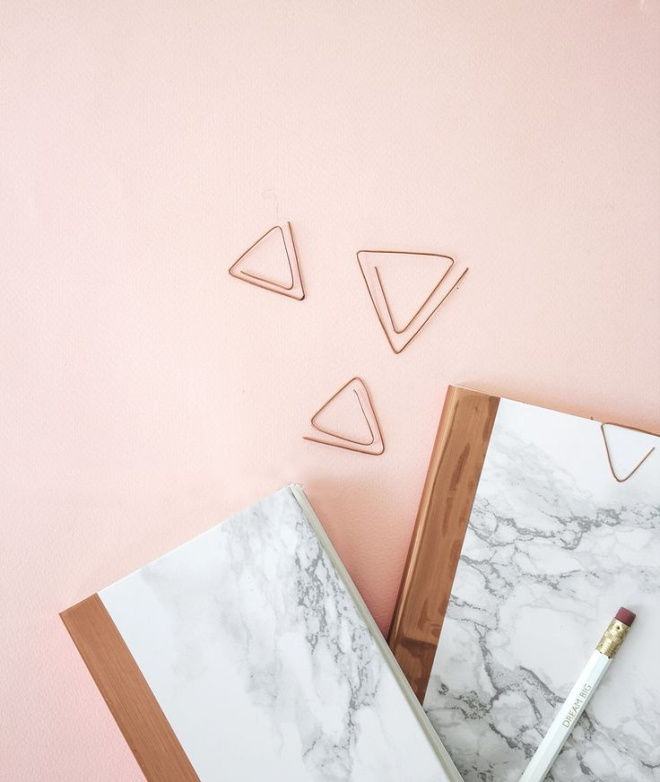 diy copper paperclips