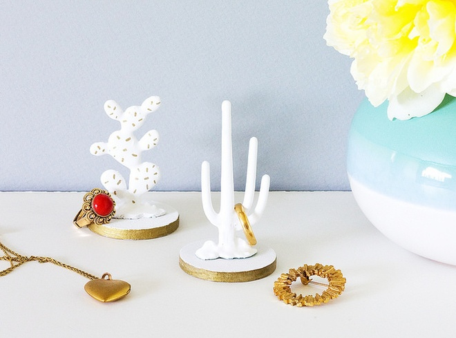 porcelain cactus ring holder | vitamini handmade