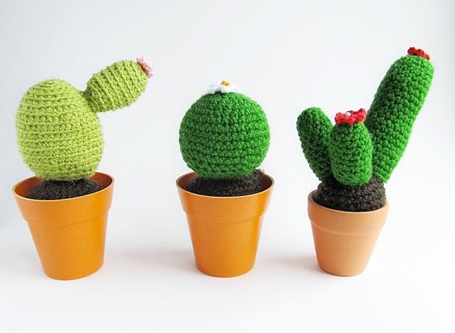 crochet cacti pattern | little things blog