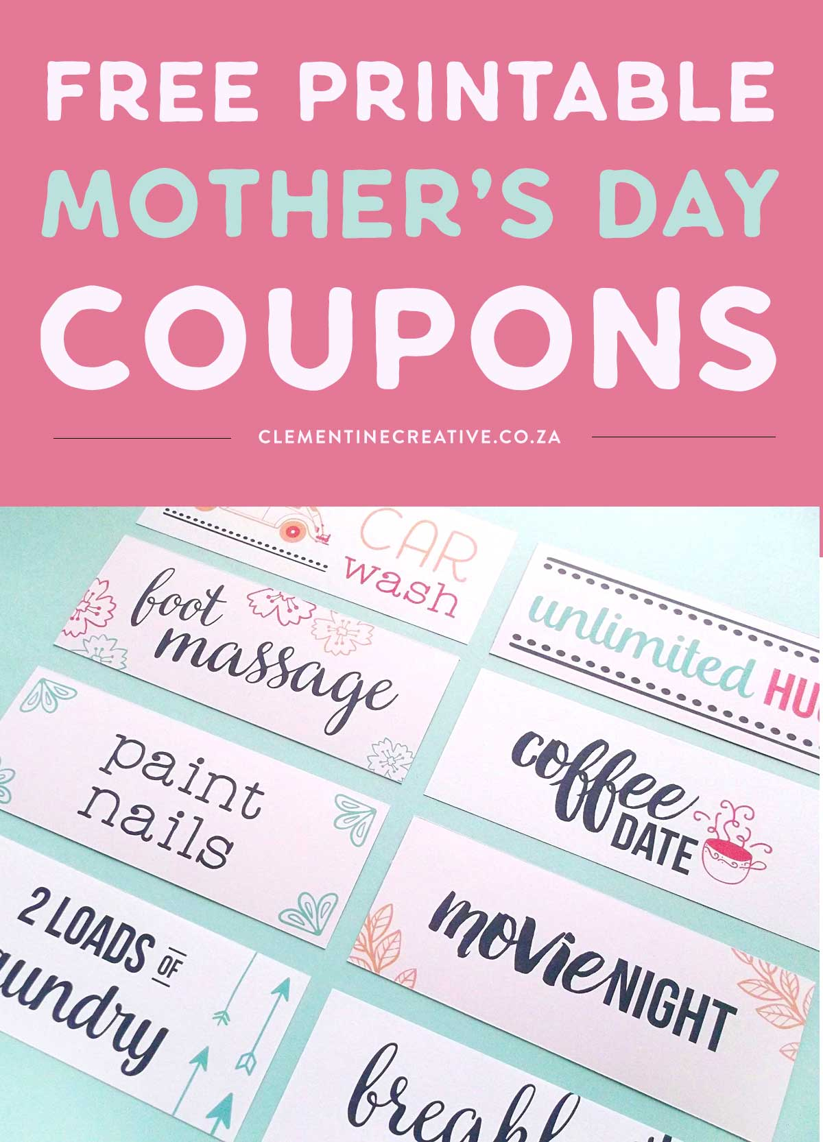 Free Printable Mother S Day Coupons To Make Mom S Day