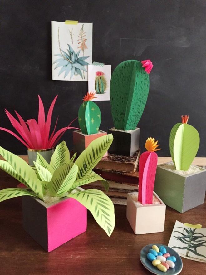 paper plants | the house that lars built