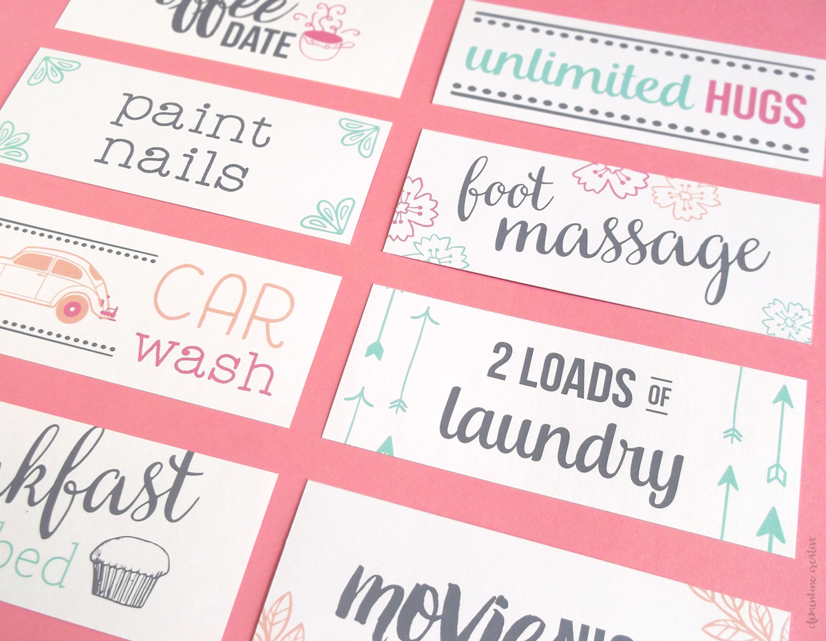 Download These Free Printable Motheru0027s Day Coupons And Treat Your ...  Printable Vouchers