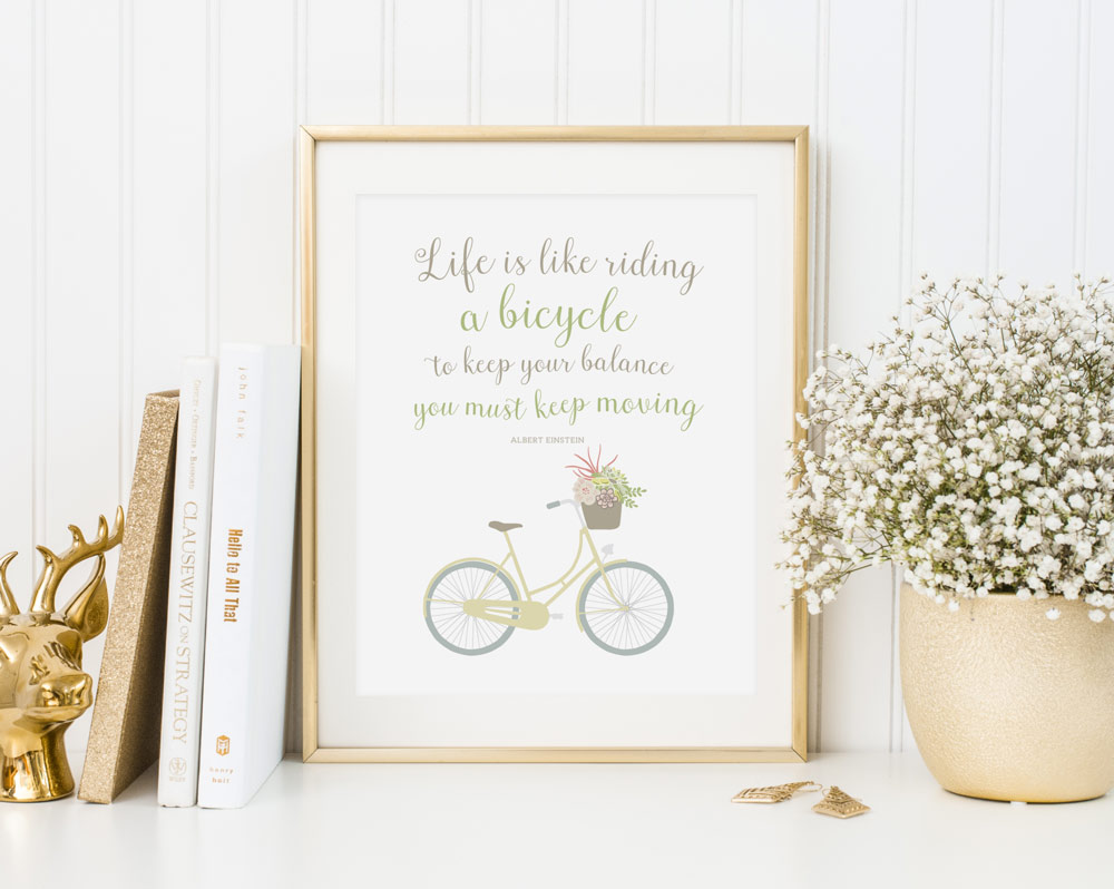 Free Printable Wall Art Quote