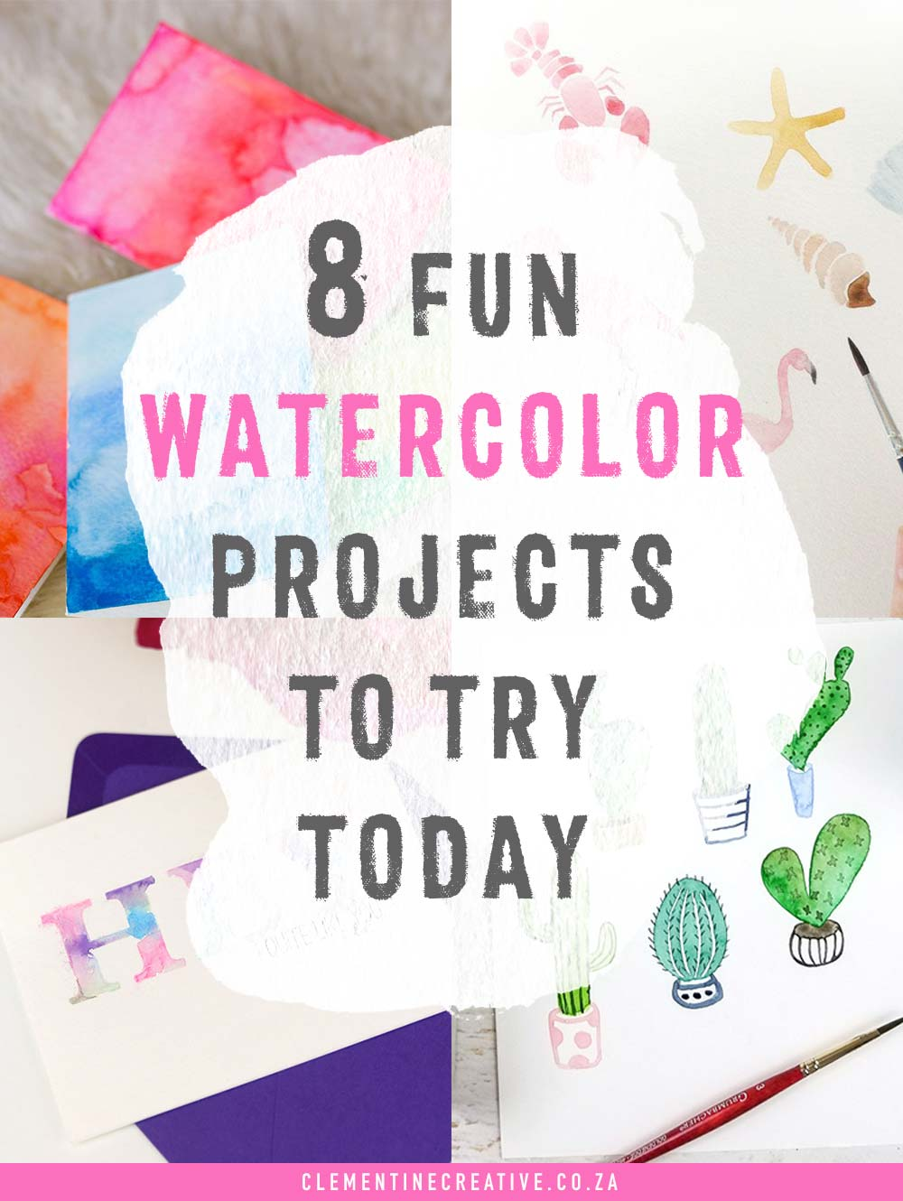 8 fun watercolor projects to try