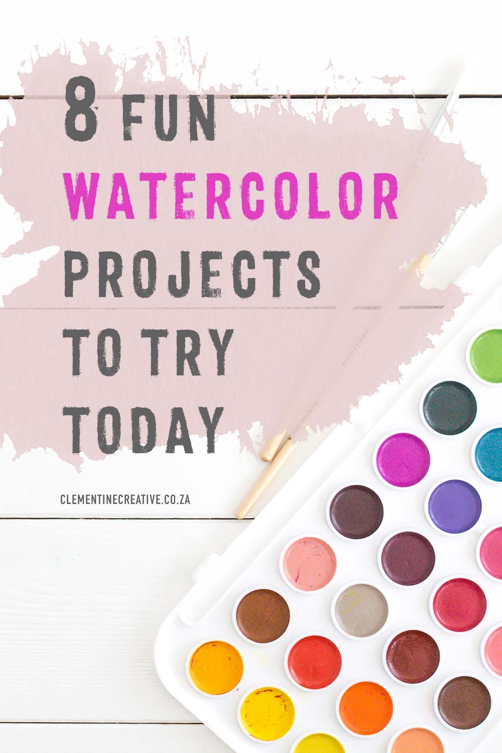 8 fun watercolor projects to try today