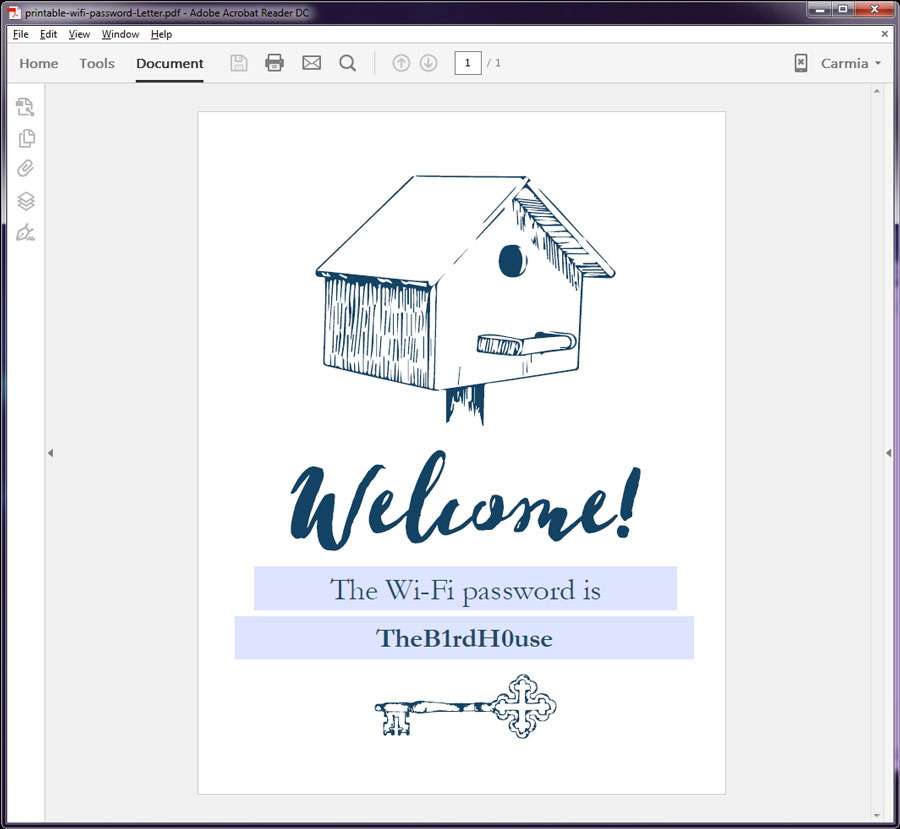 How to change size of pdf preview