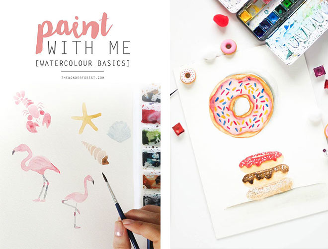 watercolor painting tutorials