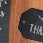 free chalkboard favour tags - download here