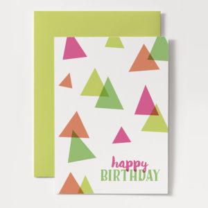 printable modern birthday card