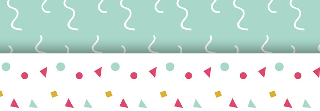 free confetti patterns for your blog or to print