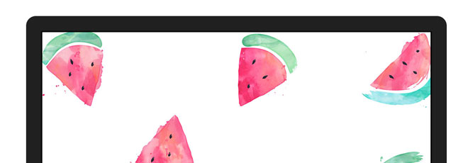 free desktop wallpaper  watermelons