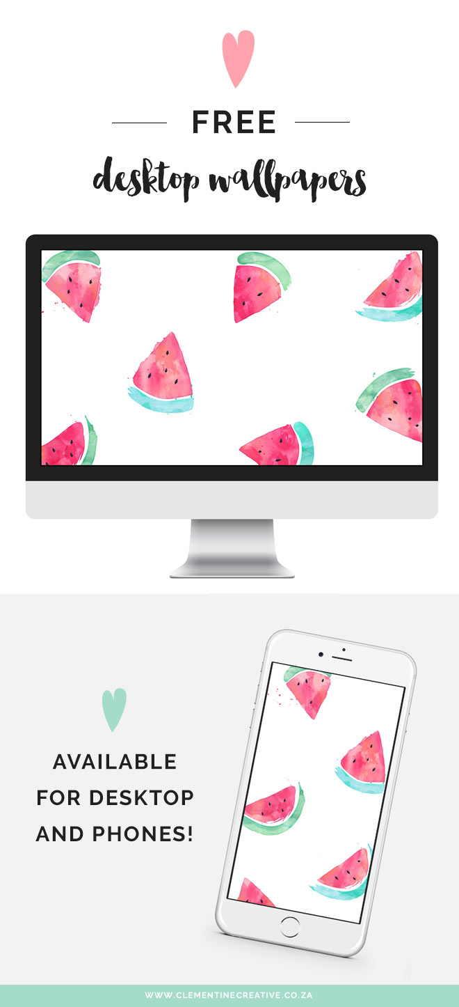 free watermelon desktop wallpaper