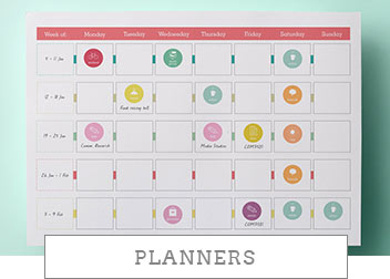 printable weekly planners