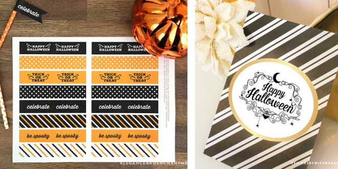 9 Free Fun Halloween Party Printables