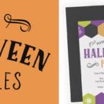 9 free halloween printables