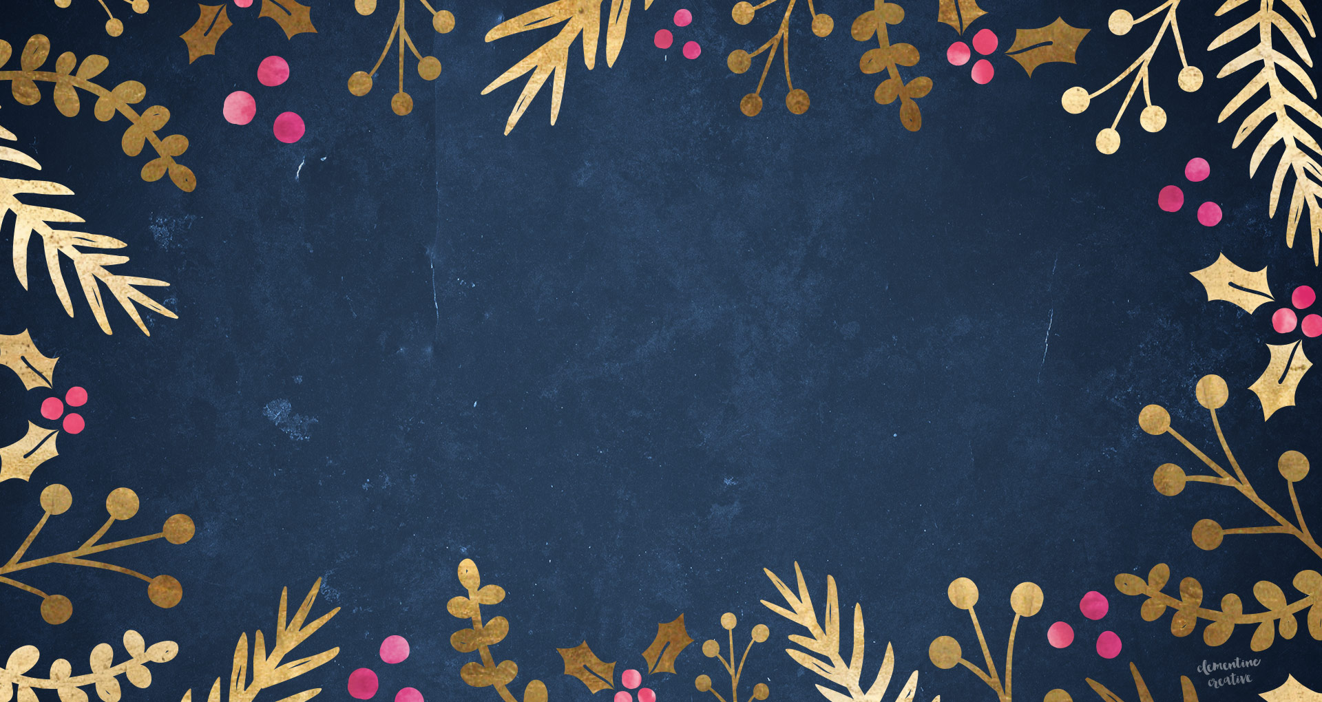 free festive wallpaper foil foliage