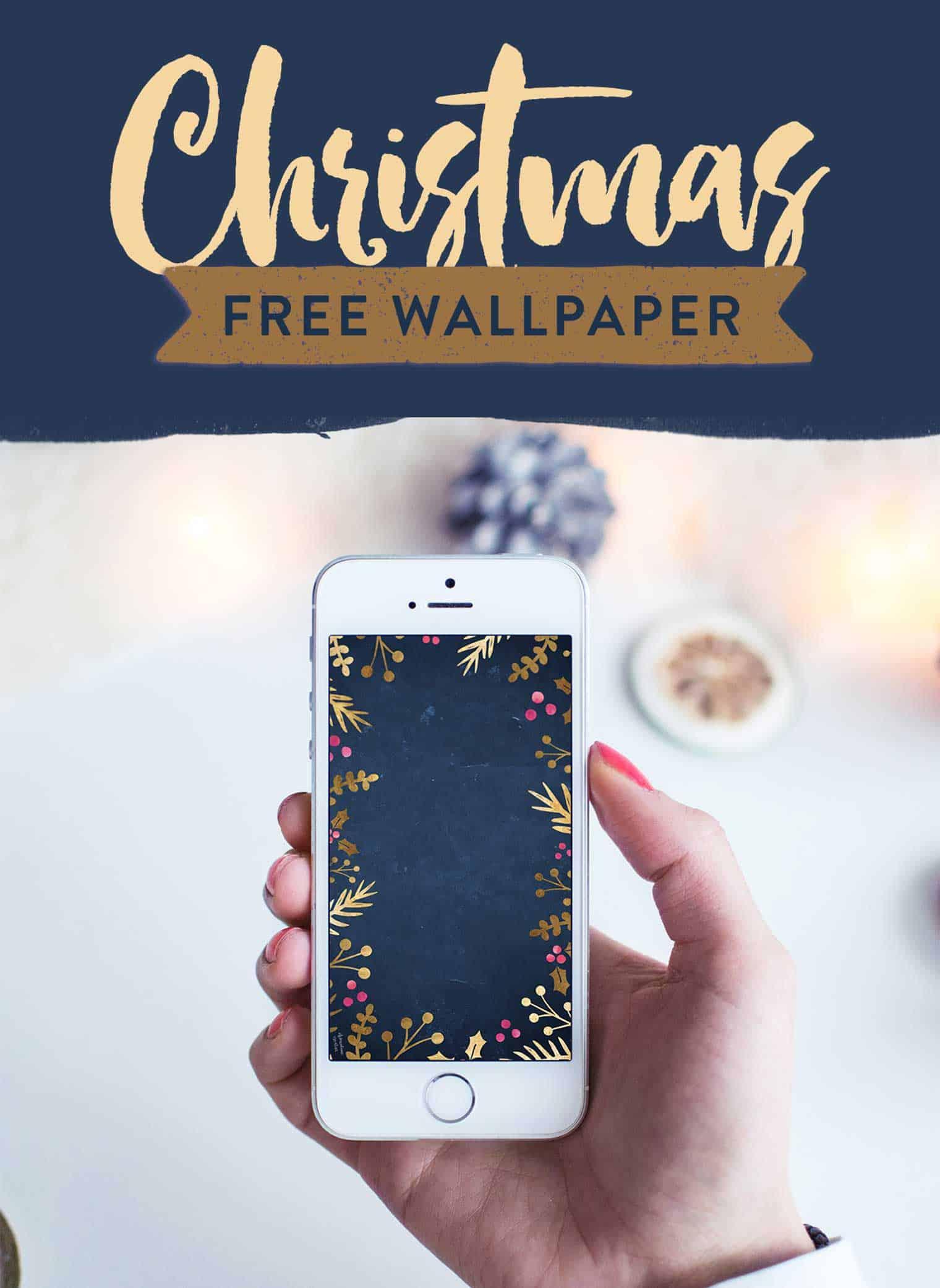 free christmas iphone wallpaper
