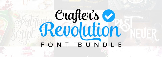 The Crafter's Font Bundle