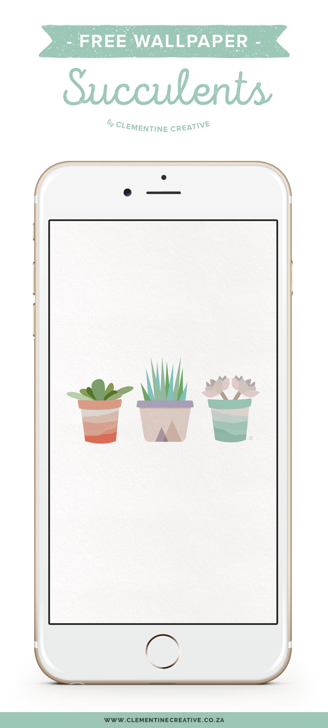 Free Desktop Wallpaper Succulents