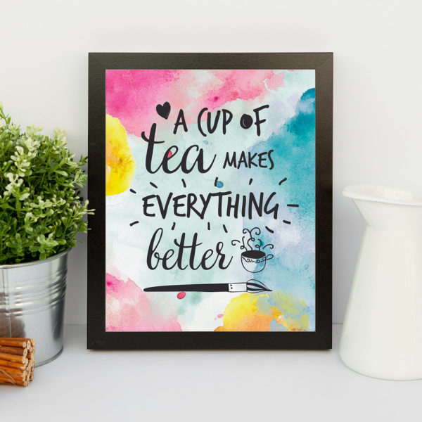 Are you a tea lover or have a friend who is? This printable tea lover quote will make a special gift.