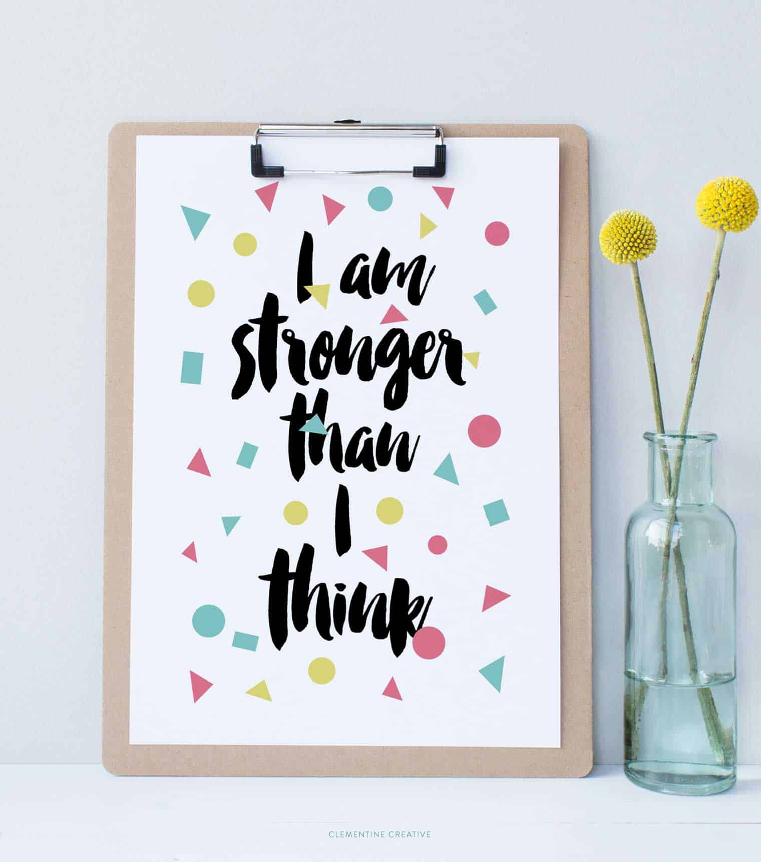free printable motivational quote prints