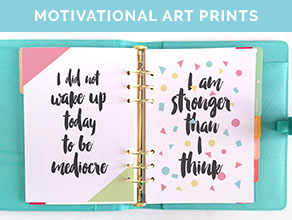 Get motivated in the morning with these free printable ...